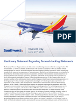 Southwest 2016 Investor Day Presentation