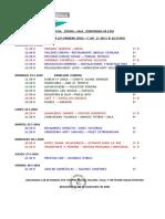 Jornada 33ª D.H. 30ª D.P. 29ª D.B.