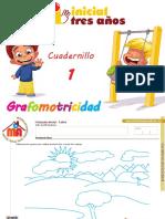 Grafomotricidad 3 años cuadernillo 1.pdf