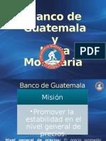 Banco de Gutemala y Junta Monetaria
