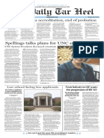 The Daily Tar Heel for June 23, 2016