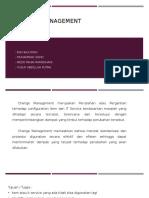 ITSM Change Management
