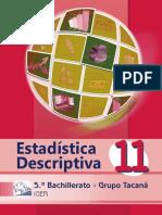 Libro Tacaná Estadística Descriptiva 1er. Sem
