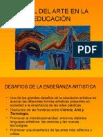4-El Rol de La Educación Artística