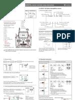 Runner 250 Match With DEVO-F12E(White) Setup Instructions-En