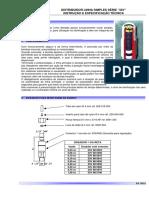 Distribidor Linha Simples 33V