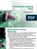 CEH IT Security Penetration Testing Step