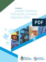 Plan Estrategico Argentina 2020 f Continua