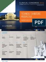 Clinical Congress Prospectus
