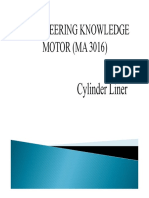 Cylinder Liner Theory