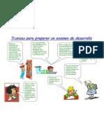 2010 Técnicas para preparar un examen de desarrollo