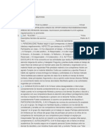 Ficha Descriptiva de Alumnos