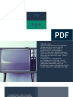 Sistem Penyiaran TV analog