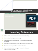 Chapter 9 Management & Leadership POST