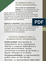 Criterios Genrales Para La Elaboración de Organigramas