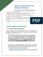 Sistema de Proyección en Dibujo Técnico