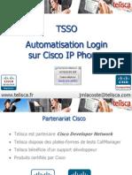 Présentation telisca Single Sign-On Extension Mobility
