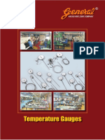 Temperature Gauges Catalogue