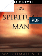 The Spiritual Man Volume Two Watchman Nee