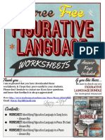 Three Free Figurative Language Worksheets