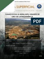 Yanacocha La Mina Más Grande de Oro Del Sudamerica