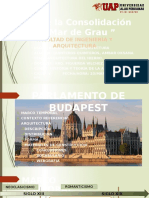 ROMANTICISMO:PARLAMENTO DE BUDAPEST