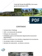 Presentación Restauración Forestal Del Paisaje RFPF FINAL