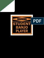 Student Banjo Player