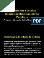 1 - História Da Psicologia - Influências Filosóficas & Históricas