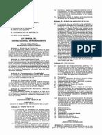 Ley 28563 Ley General de Endeudamiento