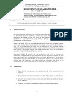 INFORME DE LABORATORIO TRANSFERENCIA DE CALOR