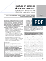The Nature of Science Education Research