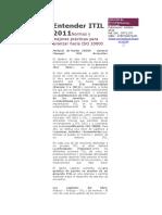 Entender ITIL 2011Normas y Mejores Prácticas Para Avanzar Hacia ISO 20000