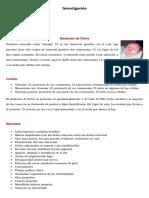 Bioanatomia- Síndromes