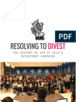 Resolving to Divest - The History of SJP at UCLA's Divestment Campaign