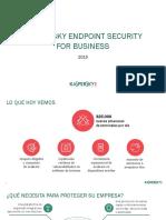 Kaspersky Endpoint Security for Business 2015 Presentation ES XL