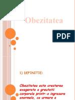 Moraru Alexandra-Obezitatea