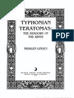Typhon i an Teratomas