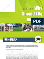 Why Should I Do an MBA by CrackVerbal