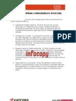 Catalogo completo de toner para impresoras, copiadoras y multifuncionales Kyocera Mita