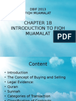introduction to fiqh muamalat