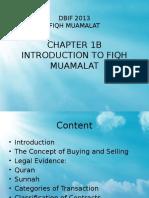 introduction to fiqh muamalat