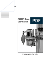 Penlon a-200 SP Circle Absorber - User Manual