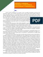 Fundamentação - Dos Livros de 3ª e 4ª Série