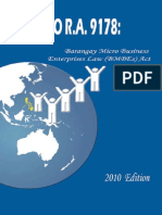Guide to RA 9178 Barangay Microbusiness Enterprises