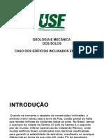 Apresentação - Caso Dos Edificios Inclinados Em Santos