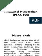 Akuntansi Musyarakah (PSAK 106)