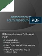 Polity 1 - SSC CGL