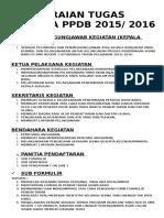 Tupoksi Panitia PPPDB 2015
