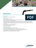 Arrow Dripper Product Sheet